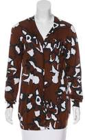 Marni Patterned Knit Cardigan