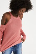 American Eagle Outfitters AE Slouchy Cold Shoulder Sweater
