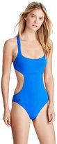Polo Ralph Lauren Cutout One-Piece Swimsuit