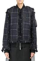 Sacai Tweed Blouson Jacket