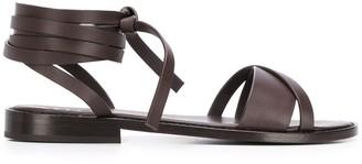 Aspesi Ankle Tie Sandals