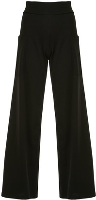 agnès b. Mathis wide leg trousers