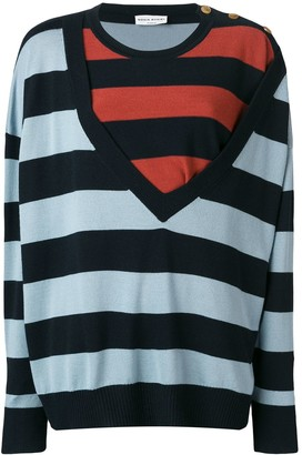 Sonia Rykiel bold striped jumper