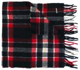 DSQUARED2 tartan check scarf - kids - Wool - One Size