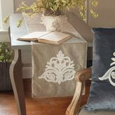 Downton Abbey® Milady Collection Hand-Appliqued Lace Table Runner in Champagne