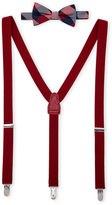 Countess Mara Gingham Bow Tie & Suspenders Set