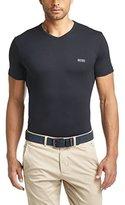HUGO BOSS Mens Short Sleeve T-shirt 'Teevn' with V-neck