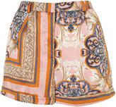 Scarf Print Shorts