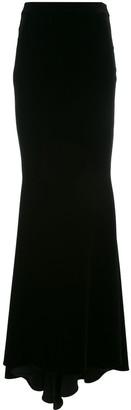 Talbot Runhof Nektar long skirt