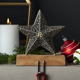 Crate & Barrel Rustic Star Stocking Hook