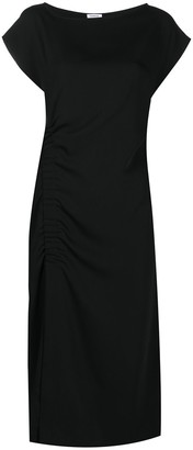 P.A.R.O.S.H. Ruched Shortlseeve Dress