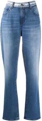Jacob Cohen Karen logo-waistband straight leg jeans