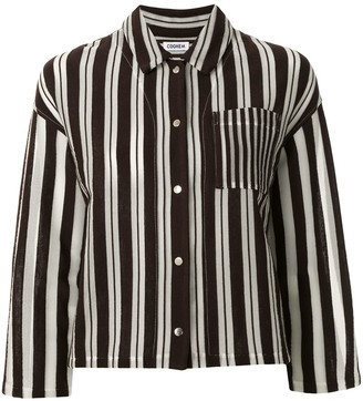 Coohem Knitted Striped Shirt