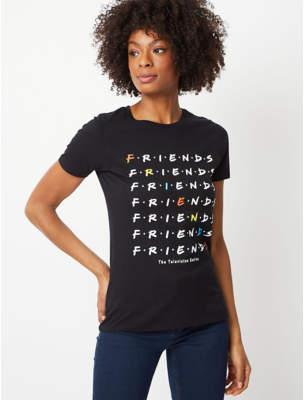 George Friends Black Logo T-Shirt