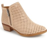 Lucky Brand 'Basel' Perforated Bootie (Women)