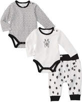 Petit Lem Boys' 3Pc Bodysuit Set