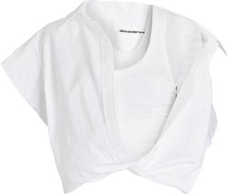Alexander Wang Falling Shoulder Poplin Shirt