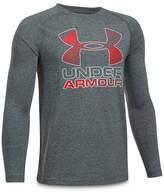 Under Armour Boys' Long-Sleeve Performance Tee - Big Kid