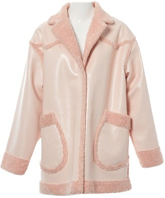 Opening Ceremony Pink Faux fur Coats