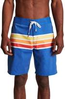 Brixton Barge Stripe Swim Trunks
