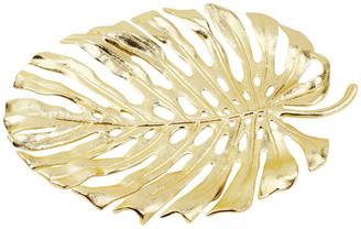 Galorehome Monstera Leaf Platters, Medium