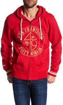 Mitchell & Ness 49ers Zip Hoodie