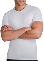 Spanx Cotton Compression Crew Neck TShirt, M