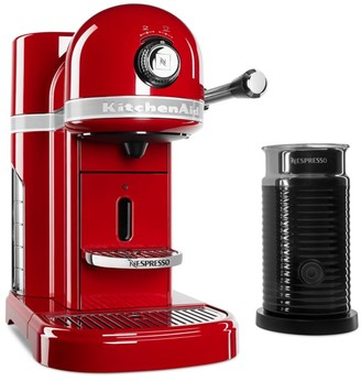 KitchenAid Nespresso Espresso Maker & Aeroccino Milk Frother Set