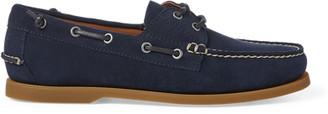 Ralph Lauren Merton Suede Boat Shoe
