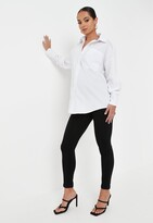 Missguided Black Over Bump Maternity Skinny Jeans