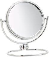 Jerdon MC310C 3-Inch Mini Folding Two-Sided Swivel Travel Mirror with 10x Magnification and Velveteen Storage Pouch, Finish