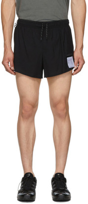 Satisfy Black Justice Short Distance 2.5 inches Shorts
