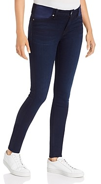 7 For All Mankind Skinny Maternity Jeans in Dark Blue