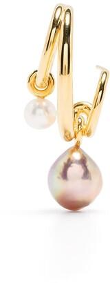 Charlotte Chesnais Pearl Triplet Earring
