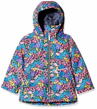 Name It Girl's Nmfmaxi Jacket Flower Field