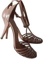 Sonia Rykiel Beige Patent leather Sandals