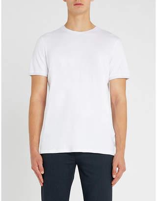 Ted Baker Polka-dot embellished cotton T-shirt