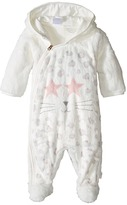 Little Marc Jacobs Faux Fur Cool Mouse Print Footee Girl's Jumpsuit & Rompers One Piece