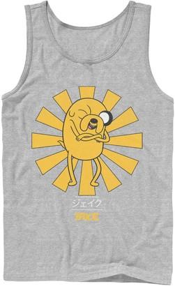 Licensed Character Men's Adventure Time Jake The Dog Kanji Portrait Tank