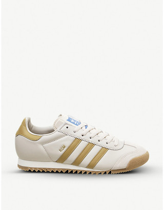 Reebok Rom leather trainers