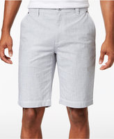 """INC International Concepts Men's 11"""" Chambray Cotton Shorts, Created for Macy's"""