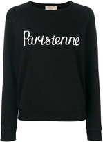 MAISON KITSUNÉ Parisienne sweatshirt - women - Cotton - S