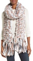 Collection XIIX Space Dye Chunky Knit Muffler