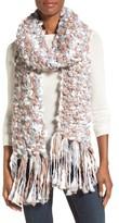 Collection XIIX Women's Space Dye Chunky Knit Muffler
