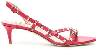 Valentino Rockstud Slingback Sandals