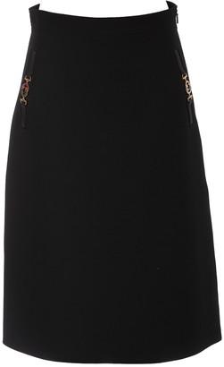 Gucci Horsebit Detail Midi Skirt