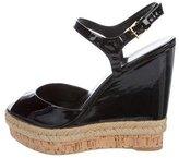 Gucci Platform Wedge Sandals