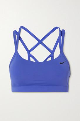 Nike Favorites Dri-fit Sports Bra - Blue