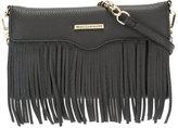 Rebecca Minkoff fringed trim clutch bag - women - Leather - One Size