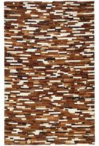 Pier 1 Imports Patchwork Saddle 8x10 Cowhide Rug